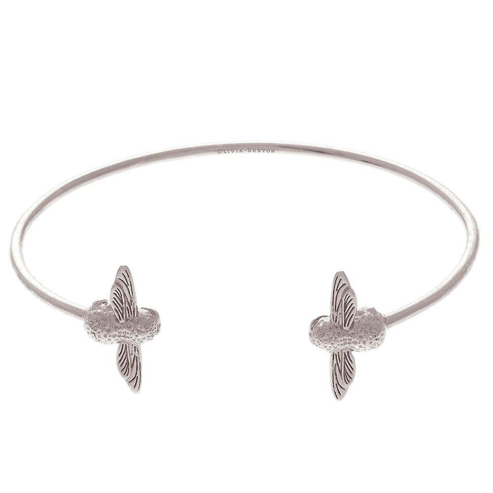 Olivia Burton 3D Bee Silver Bangle
