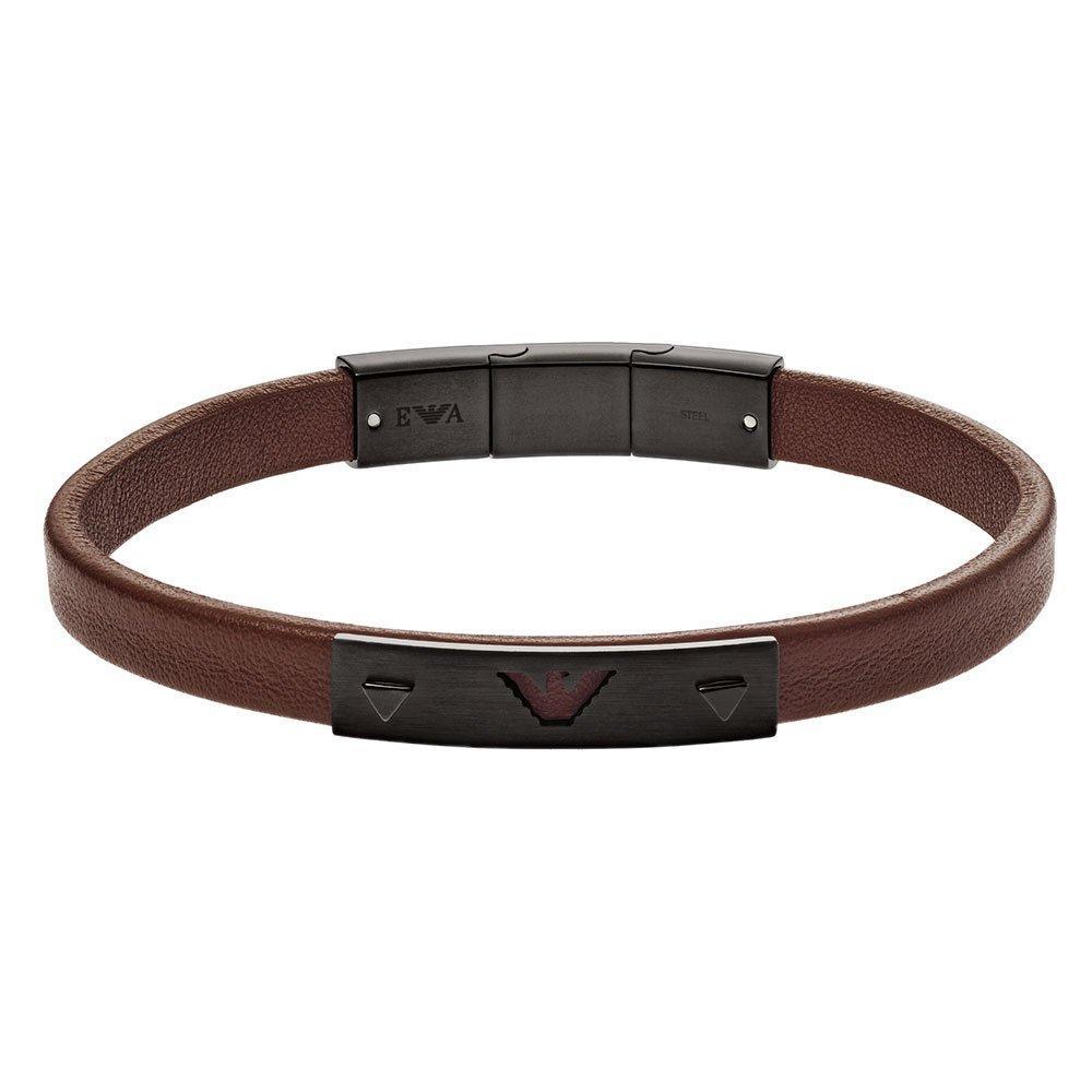 Emporio Armani Leather Bracelet