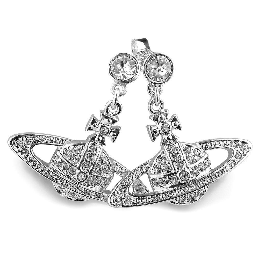 Vivienne Westwood Relief Orb Earrings