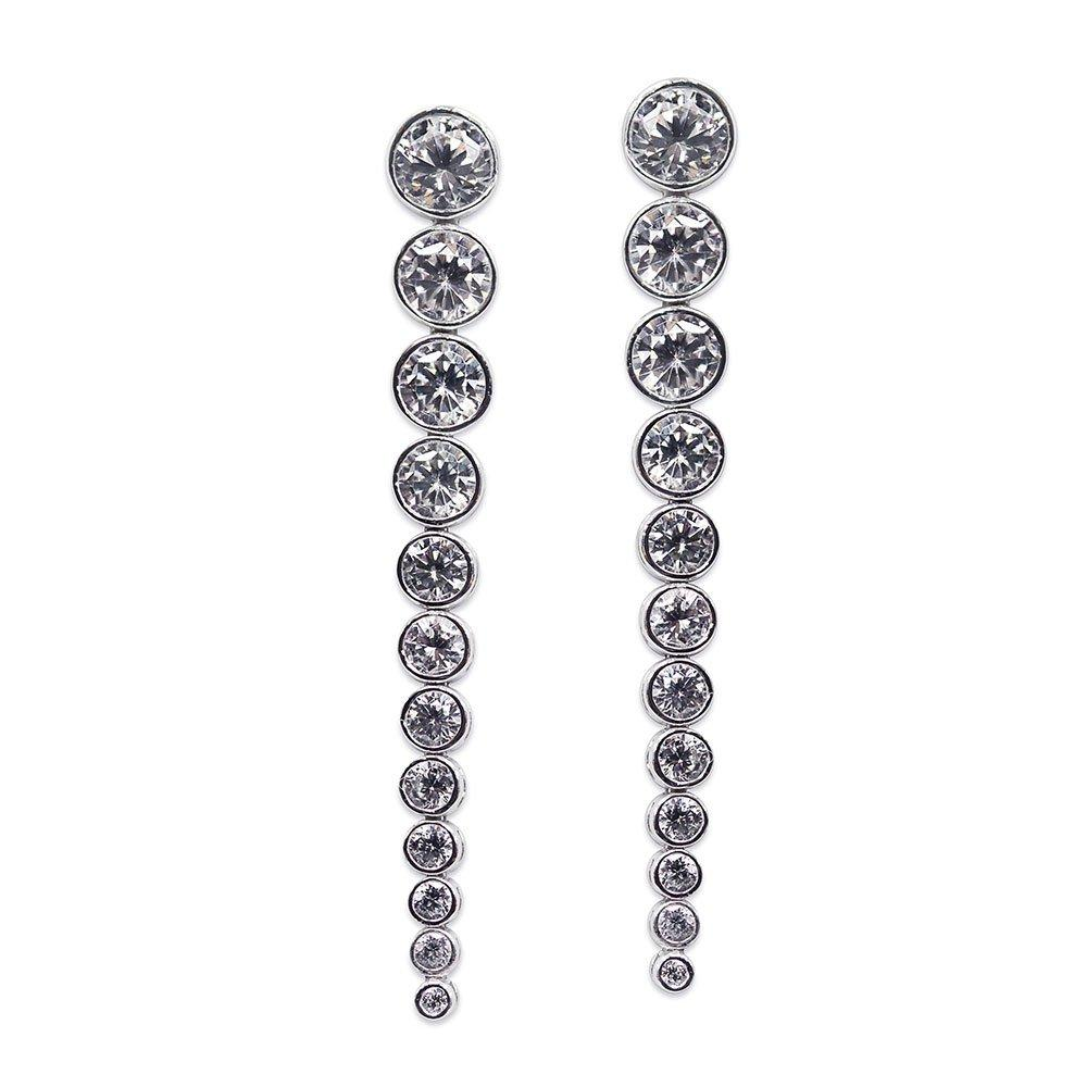 CARAT Quentin Silver Earrings
