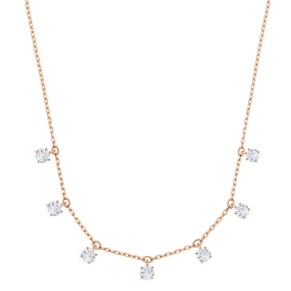 Swarovski Attract Rose Gold Plated Crystal Necklace