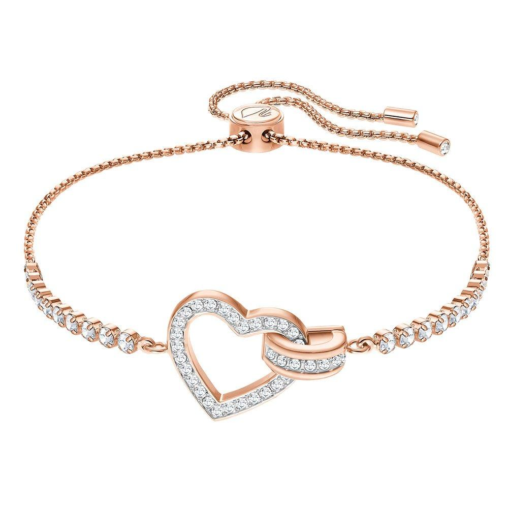 Swarovski Lovely Rose Gold Tone Crystal Bracelet