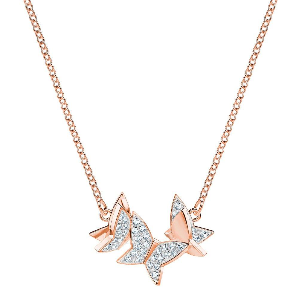 Swarovski Lilia Rose Gold Tone Necklace