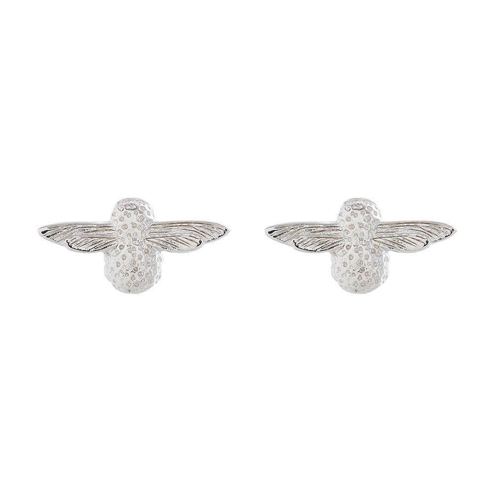 Olivia Burton 3D Bee Silver Earrings