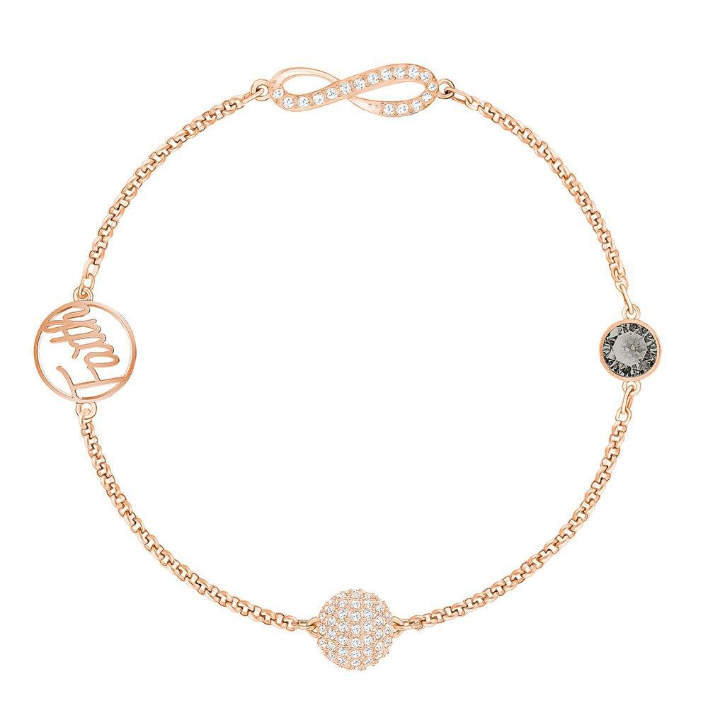 Swarovski Remix Rose Gold Plated Crystal Bracelet