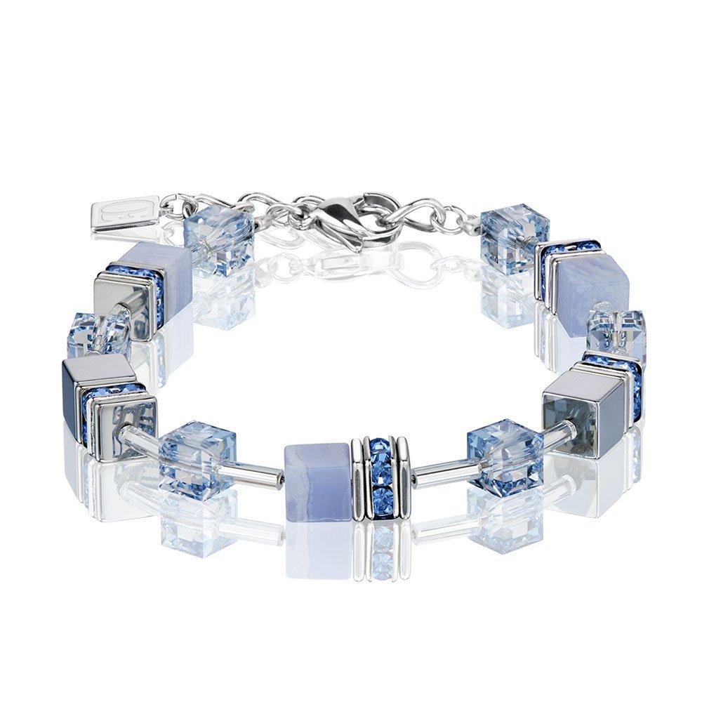 Coeur De Lion GeoCube Crystal Bracelet