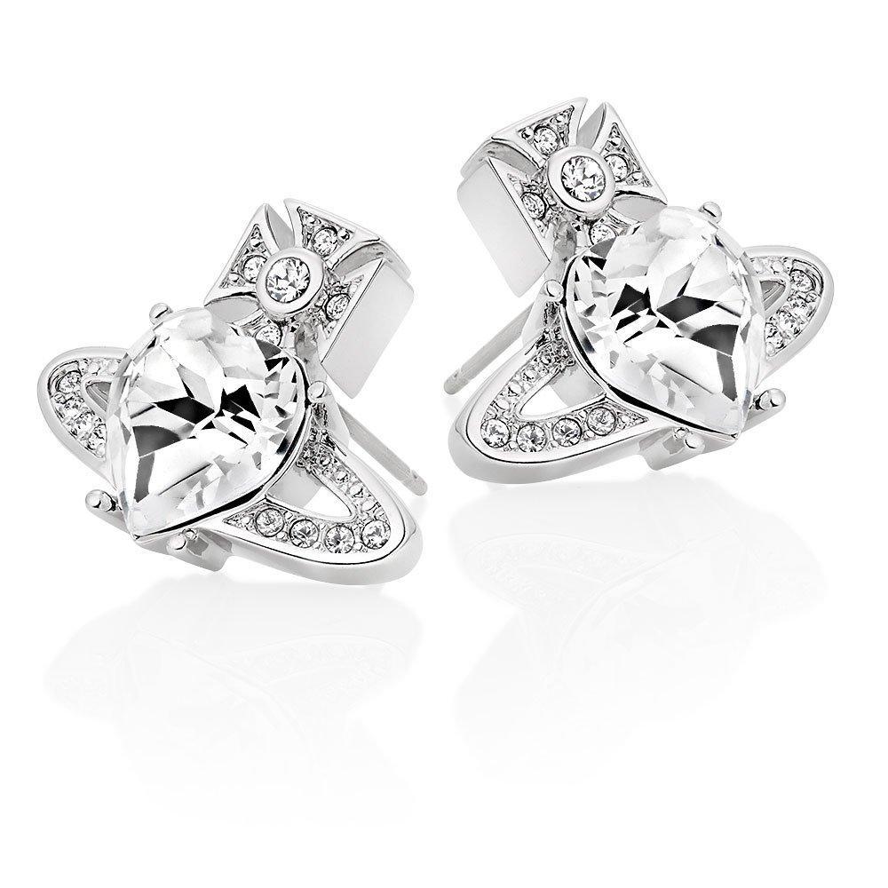 Vivienne Westwood Ariella Crystal Orb Stud Earrings