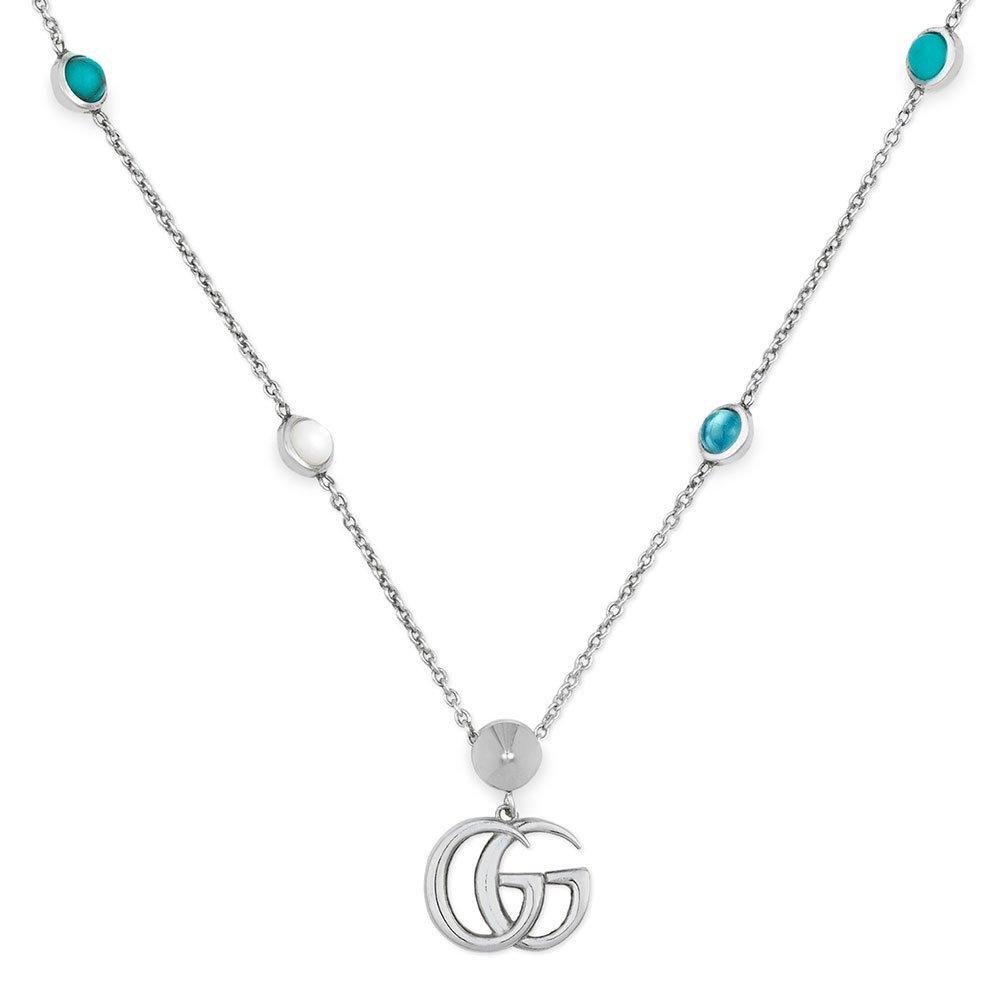 Gucci Marmont Silver Necklace