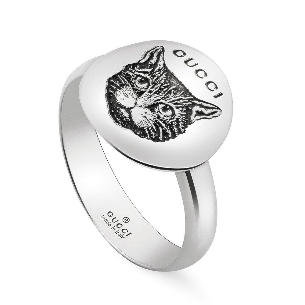 Gucci Blind For Love Silver Ring