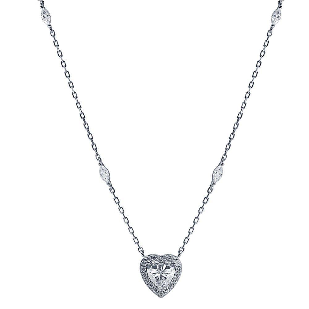 CARAT Cora Silver Heart Pendant