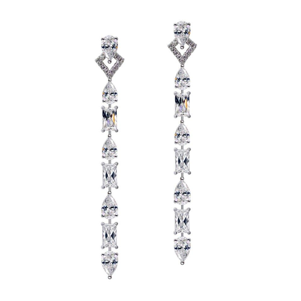 CARAT Madison Silver Drop Earrings
