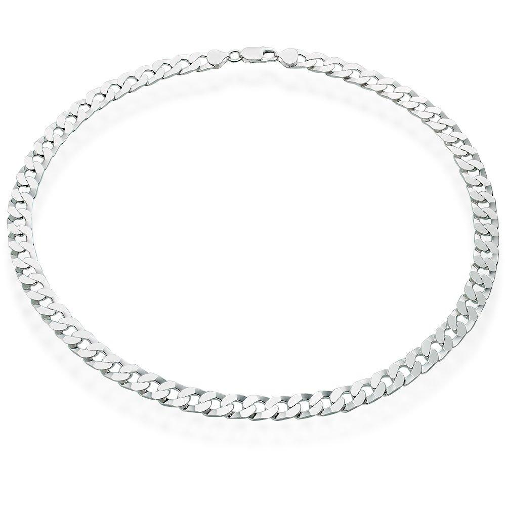 Silver Curb Men's Chain