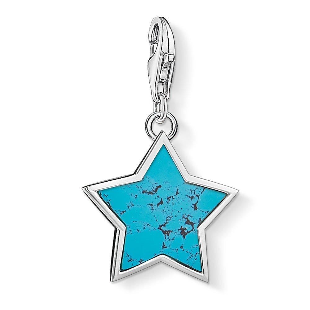Thomas Sabo Generation Charm Club Silver Turquoise Star Charm