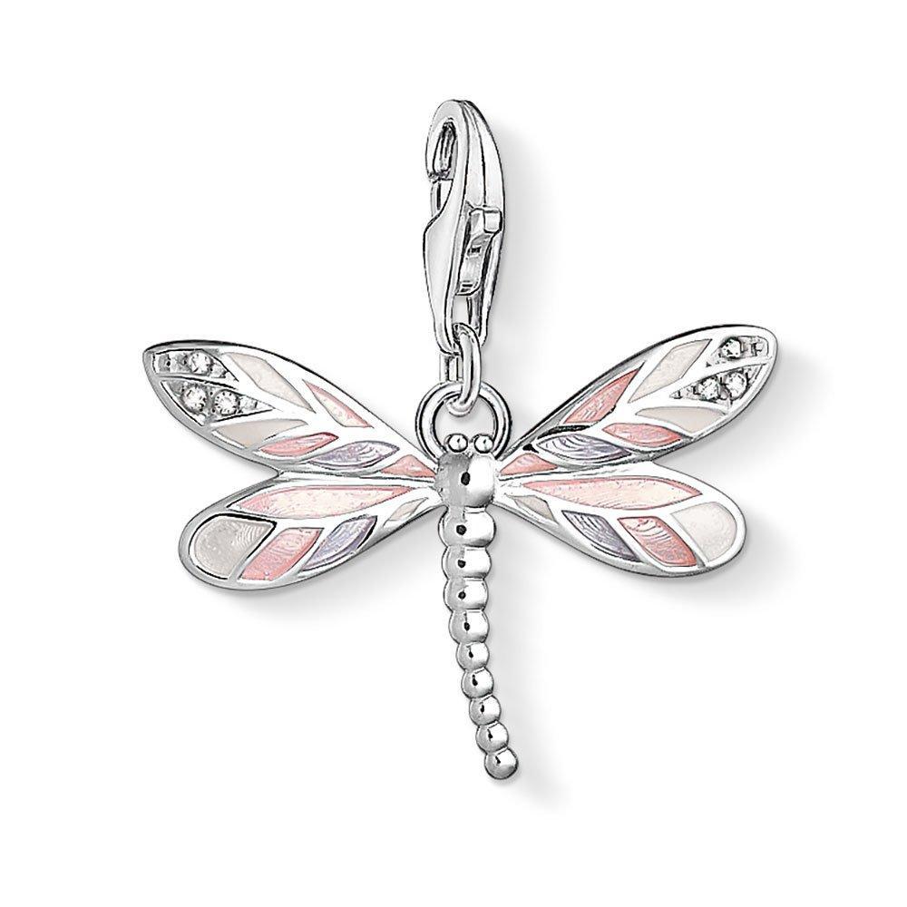 Thomas Sabo Generation Charm Club Silver Dragonfly Cubic Zirconia Charm