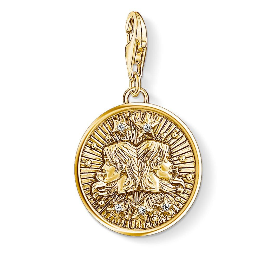 Thomas Sabo Generation Charm Club 18ct Gold Plated Silver Gemini Charm