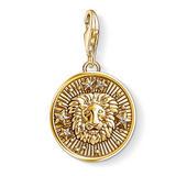 Thomas Sabo Generation Charm Club 18ct Gold Plated Silver Leo Charm
