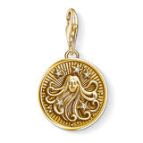 Thomas Sabo Generation Charm Club 18ct Gold Plated Silver Virgo Charm