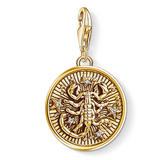 Thomas Sabo Generation Charm Club Zodiac 18ct Gold Plated Silver Scorpio Charm