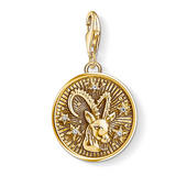 Thomas Sabo Generation Charm Club 18ct Gold Plated Silver Capricorn Charm