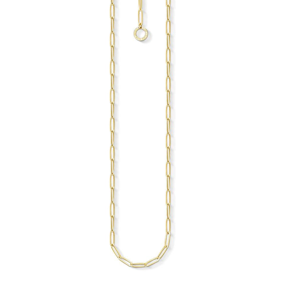 Thomas Sabo Generation Charm Club Gold Plated Silver Charm Chain 45cm