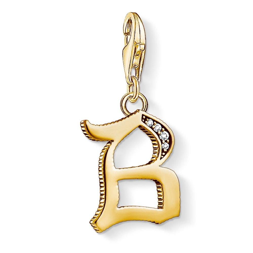 Thomas Sabo Generation Charm Club 18ct Gold Plated Silver B Charm