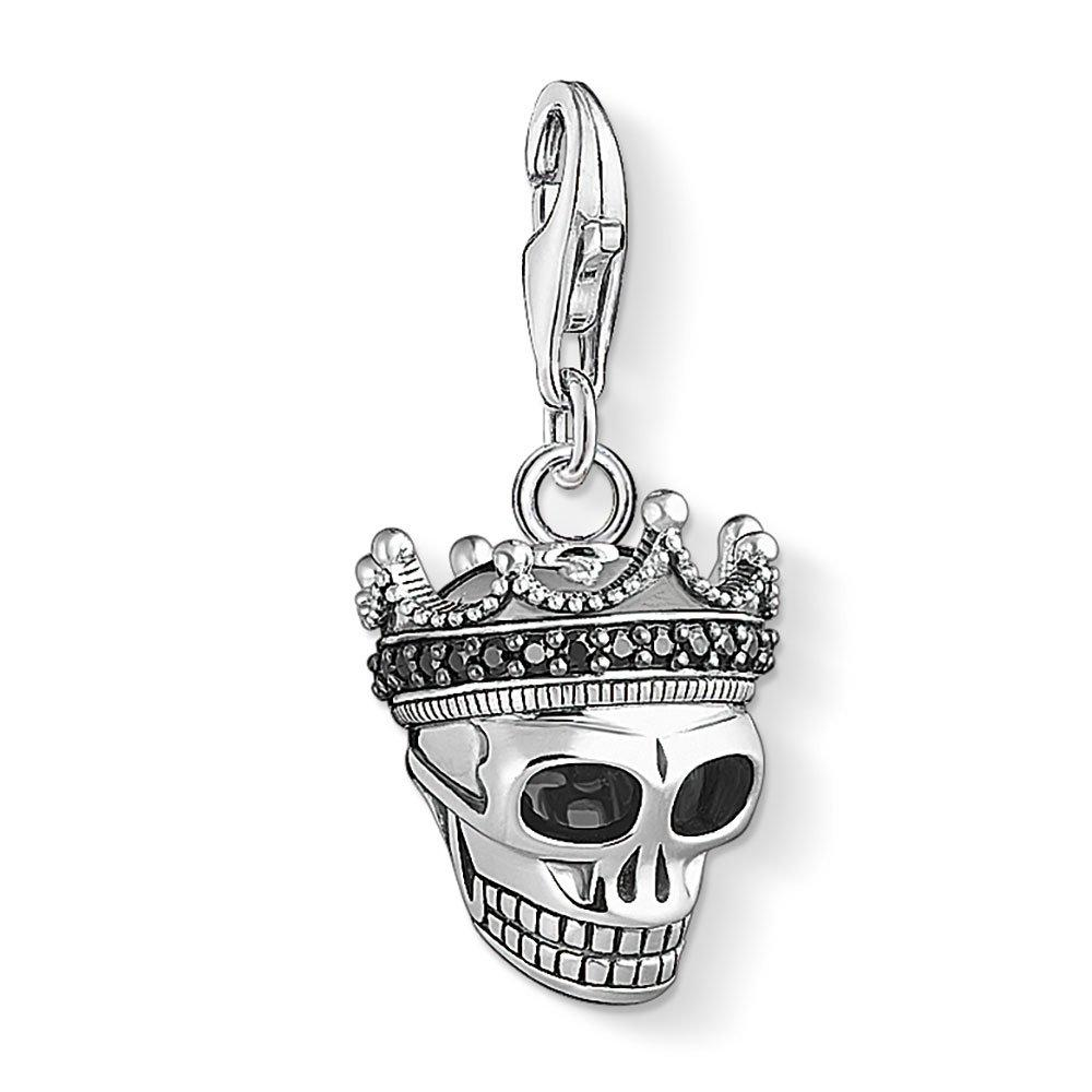 Thomas Sabo Generation Charm Club Silver Skull Crown Charm