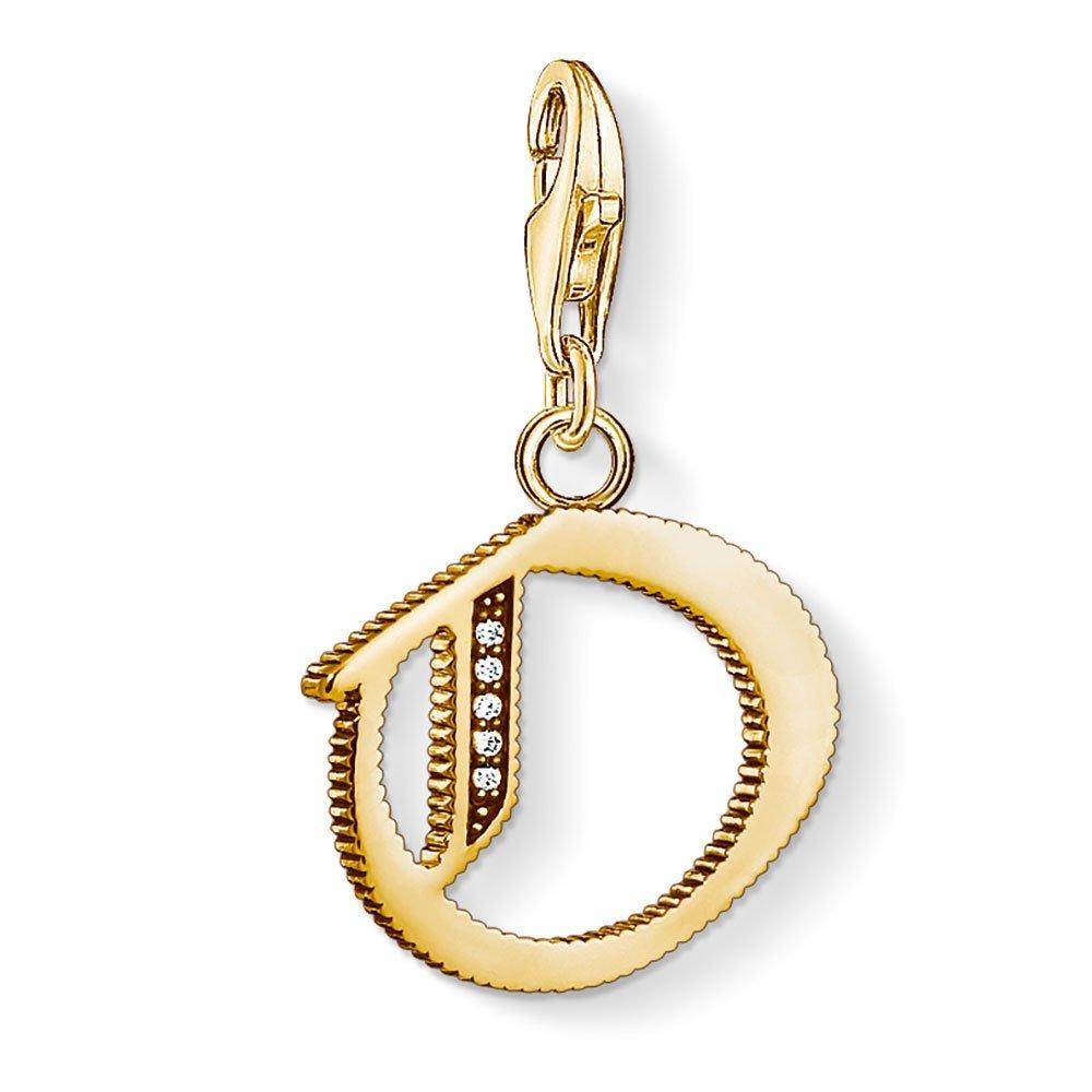 Thomas Sabo Generation Charm Blub Vintage 18ct Gold Plated Silver O Charm