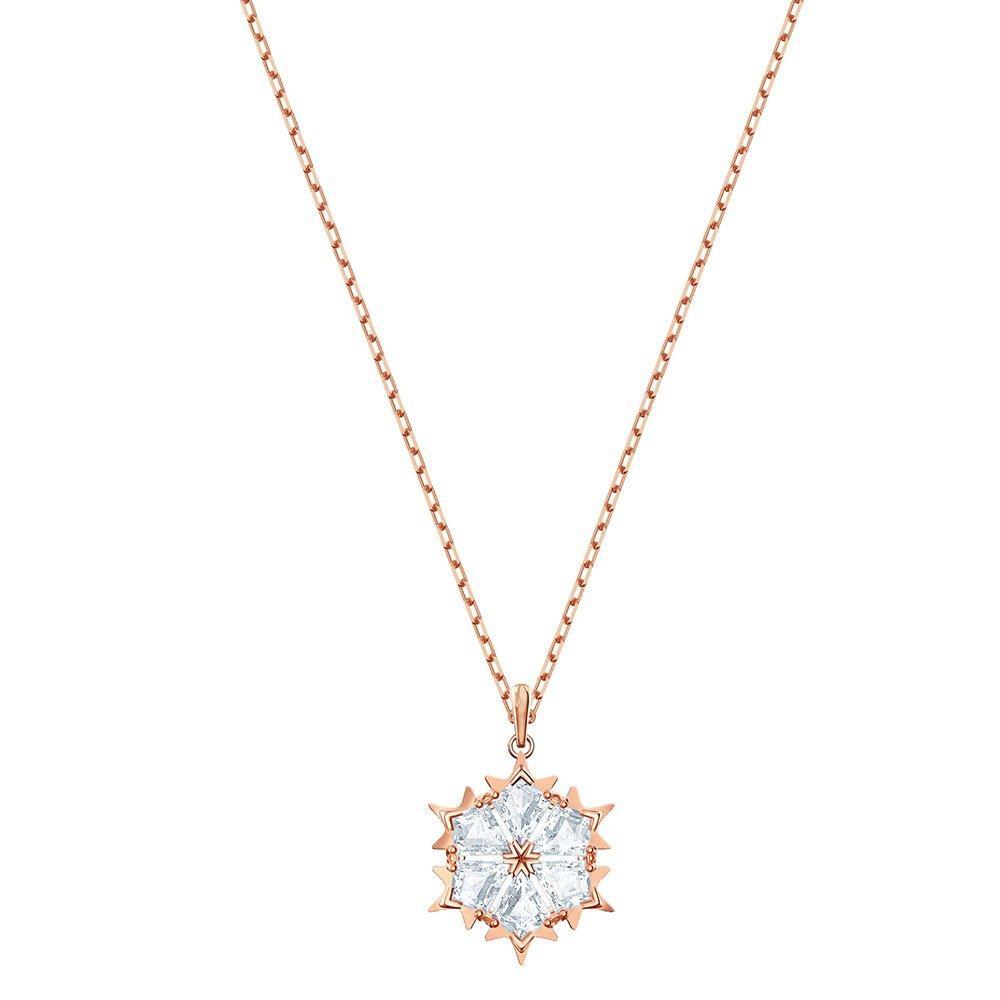 Swarovski Magic Rose Gold Plated Crystal Necklace