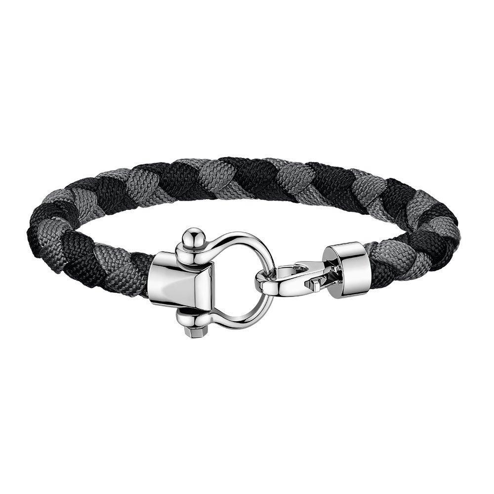 OMEGA Black Nylon Sailing Bracelet