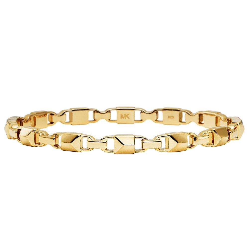 Michael Kors Mercer Link 14ct Gold Plated Silver Bracelet