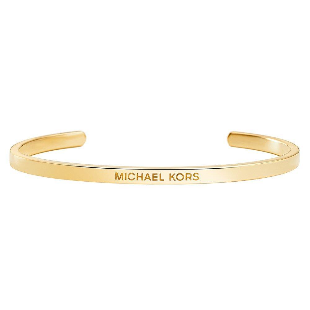 Michael Kors Custom Kors 14ct Gold Plated Silver Insert Bangle