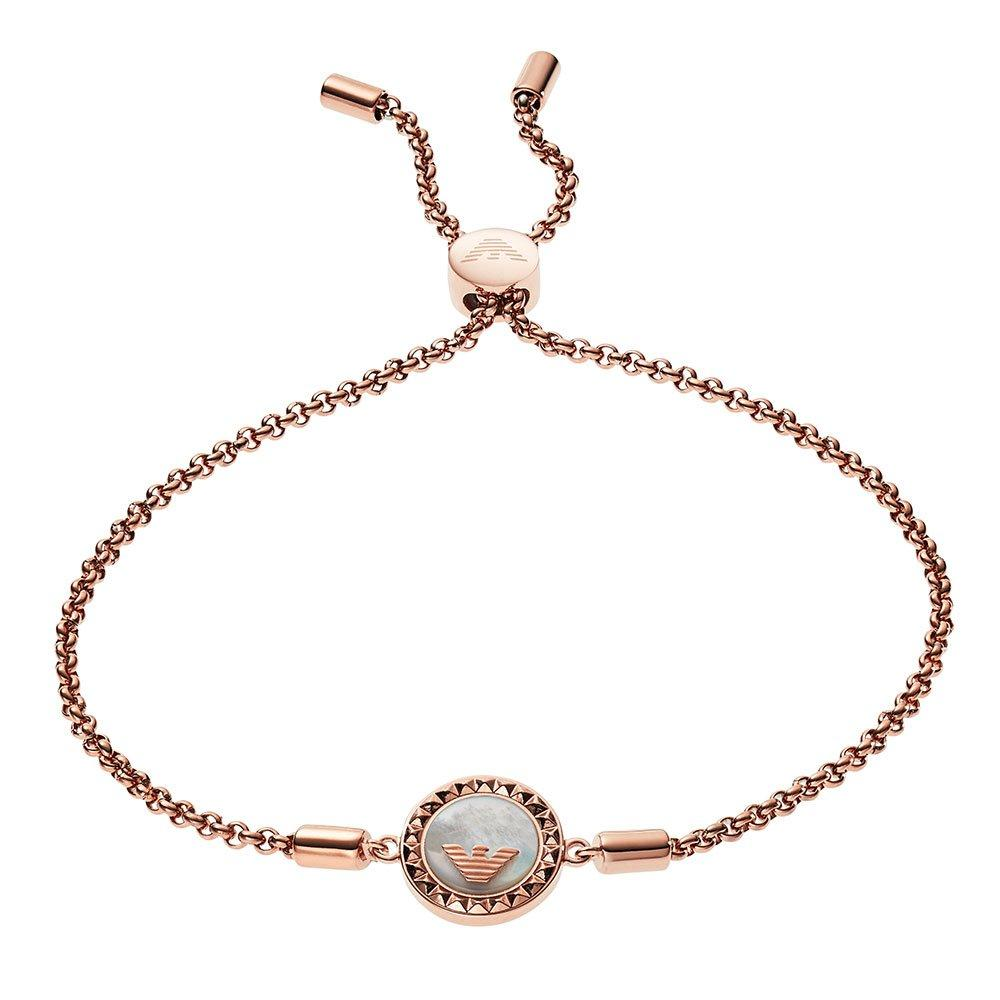 Emporio Armani Rose Gold Plated Bracelet