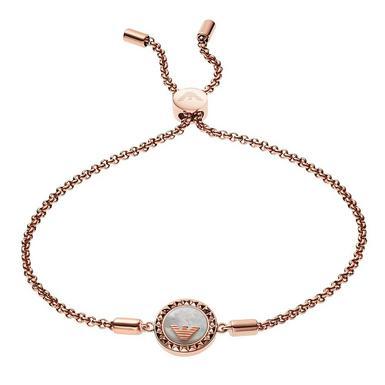 Emporio Armani Rose Gold Plated Bracelet