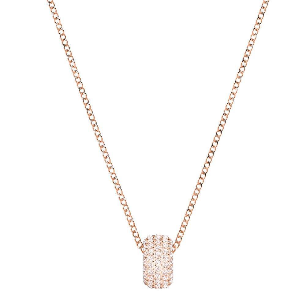 Swarovski Rose Gold Plated Crystal Pendant