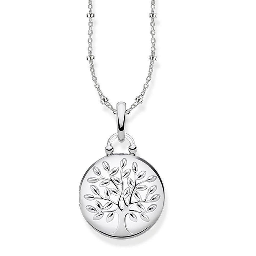 Thomas Sabo Glam & Soul Silver Tree of Love Locket Necklace