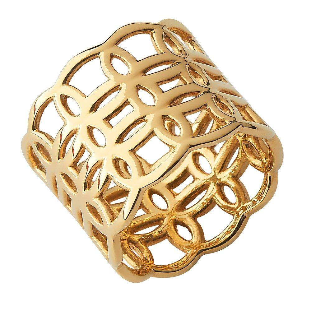 Links of London Gold Plated Silver Oval Ring