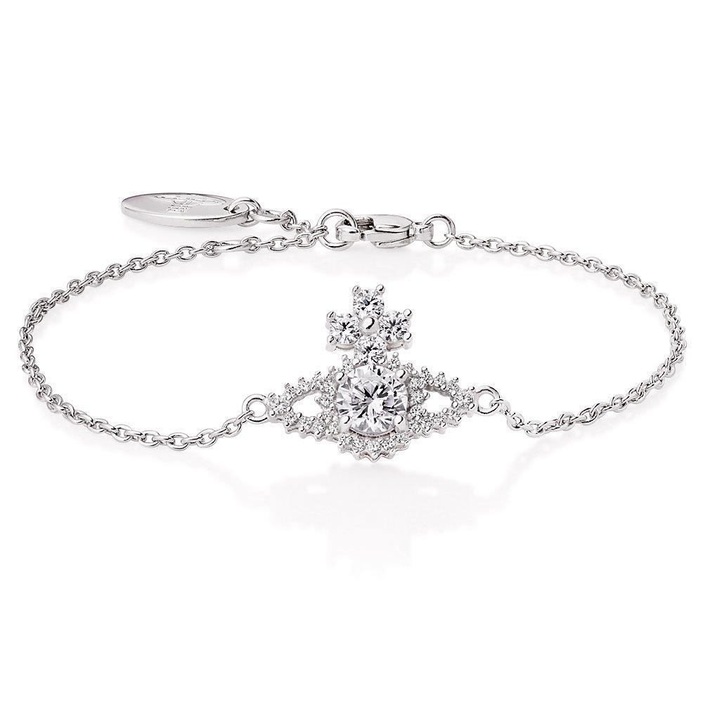 Vivienne Westwood Valentina Cubic Zirconia Bracelet