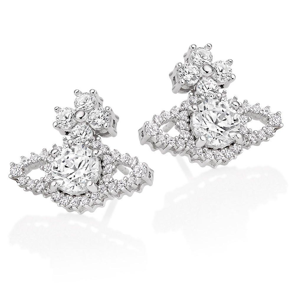 Vivienne Westwood Valentina Cubic Zirconia Earrings