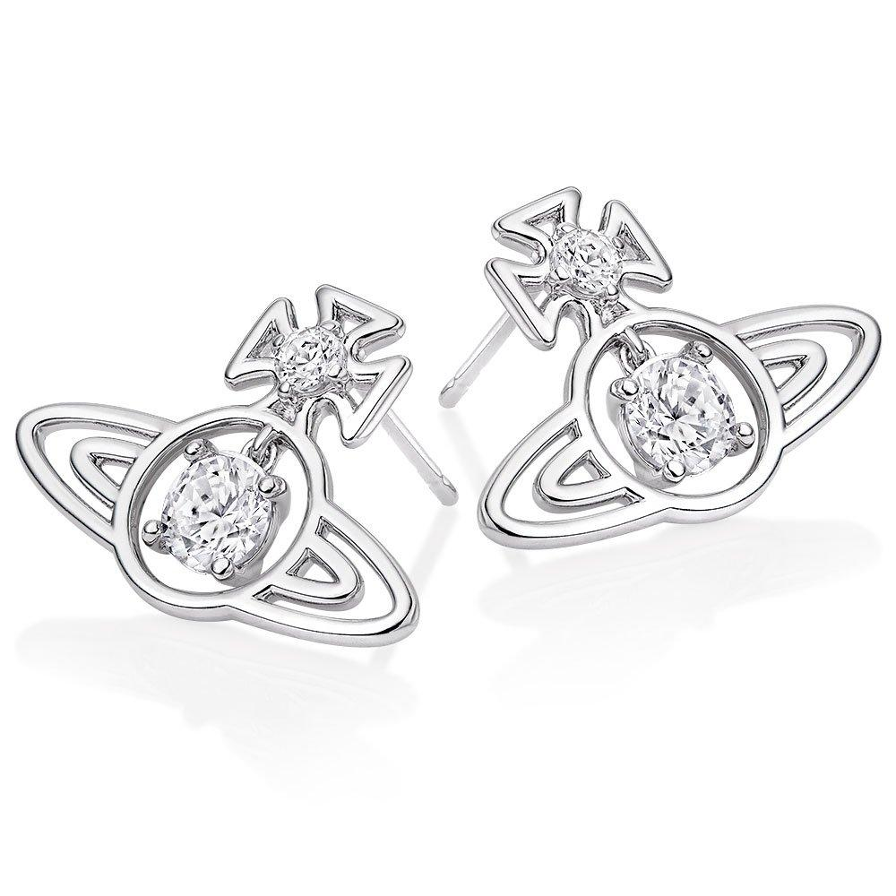 Vivienne Westwood Sheila Cubic Zirconia Earrings