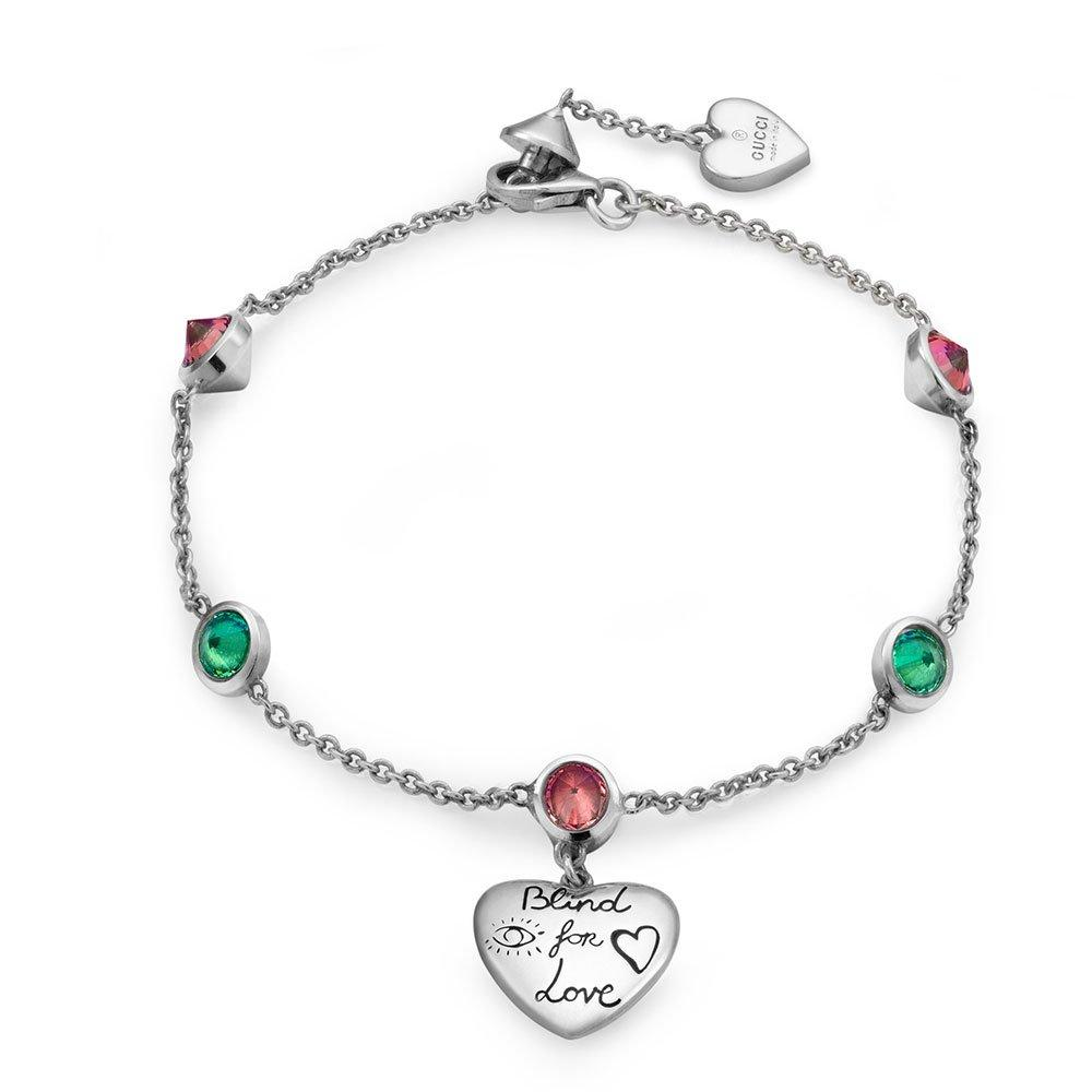 Gucci Blind For Love Silver Bracelet