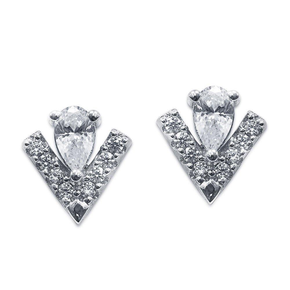 CARAT Victoria Silver Stud Earrings