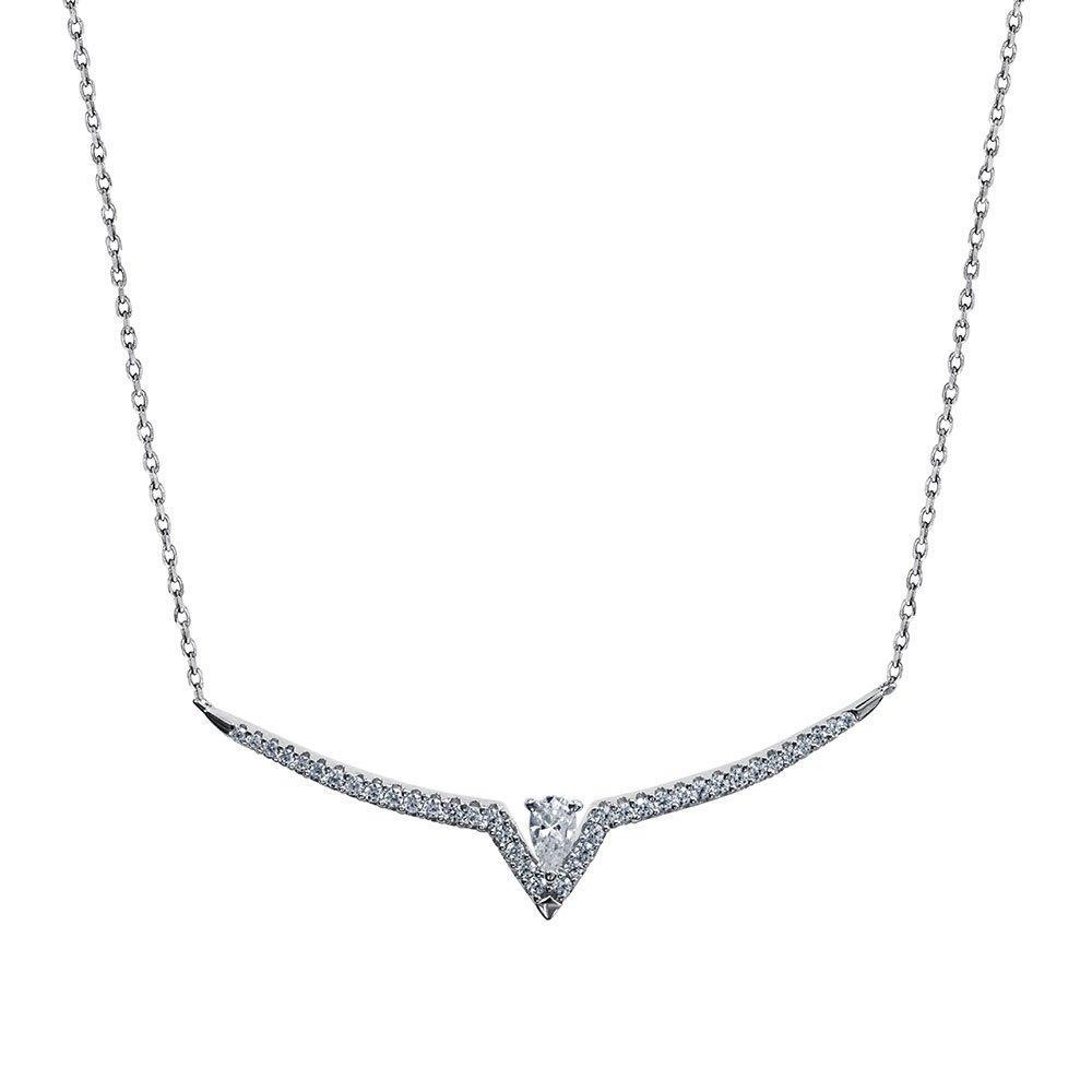 CARAT Victoria Silver Necklace