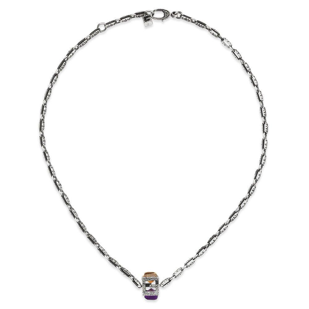 Gucci G Cube Silver Ladies Pendant