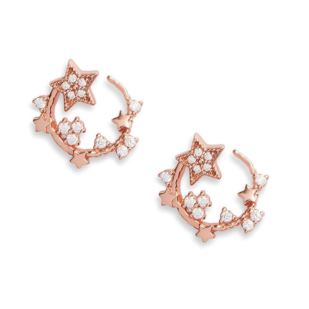 Olivia Burton Celestial Rose Gold Plated Silver Crystal Earrings