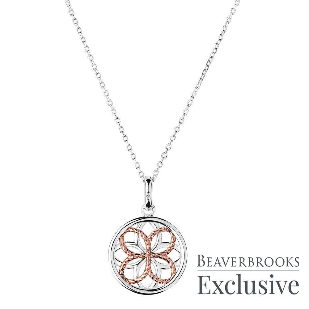 Links of London Exclusive Reverie Silver and Rose Gold Plated Limited Edition Necklace