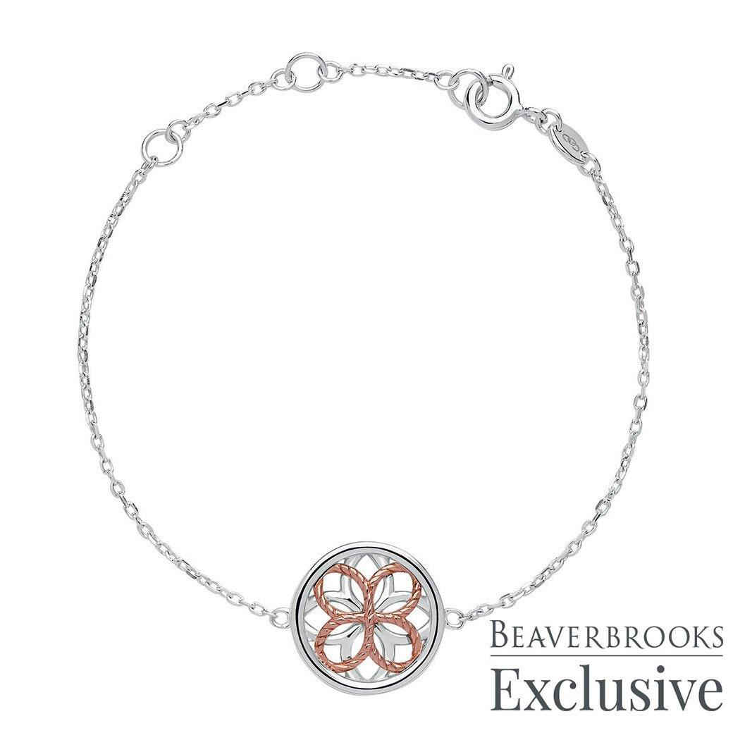 Links of London Exclusive Reverie Silver and Rose Gold Plated Bracelet