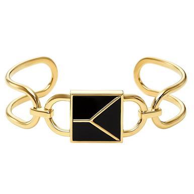 Michael Kors Mercer Gold Plated Silver Bangle