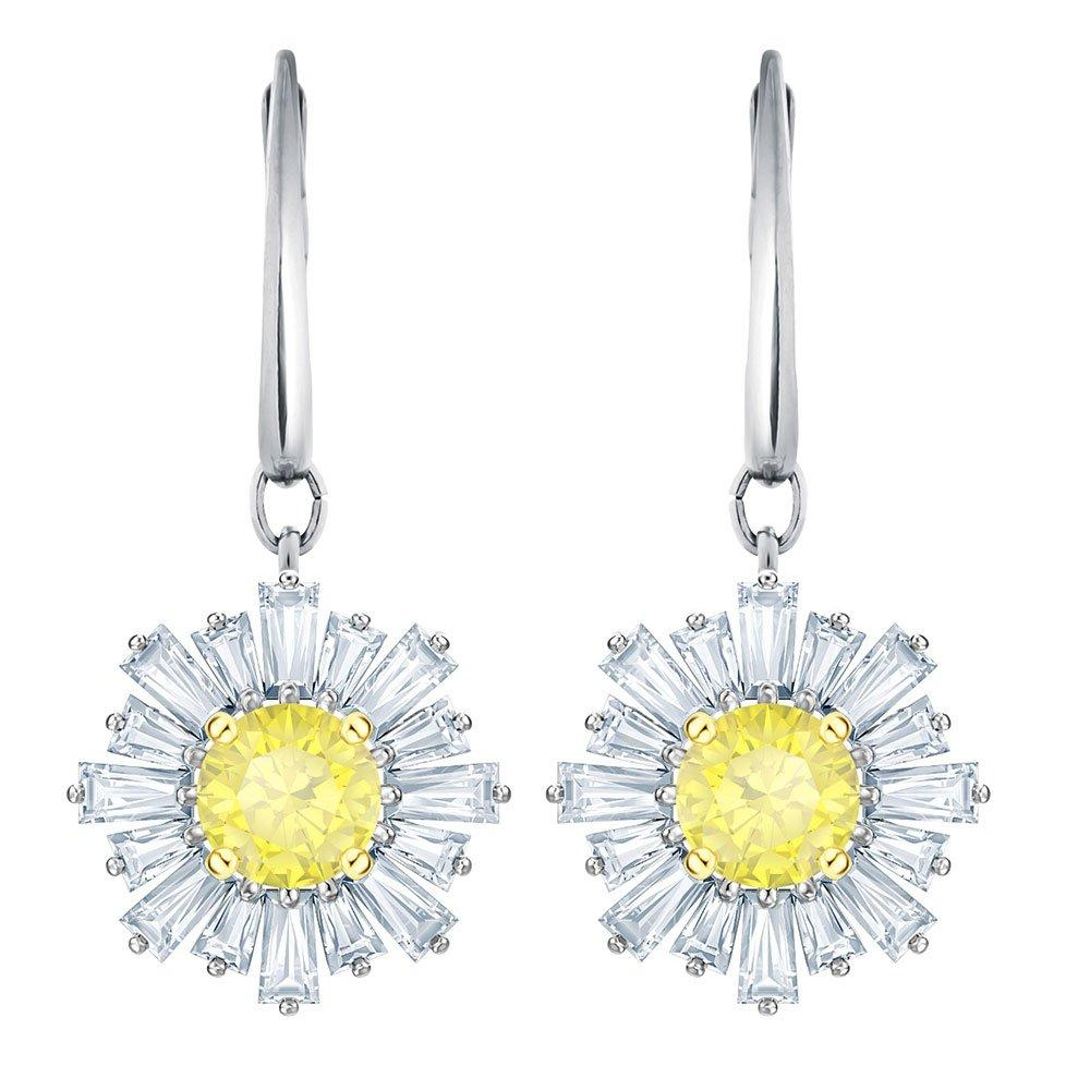Swarovski Sunshine Crystal Drop Earrings