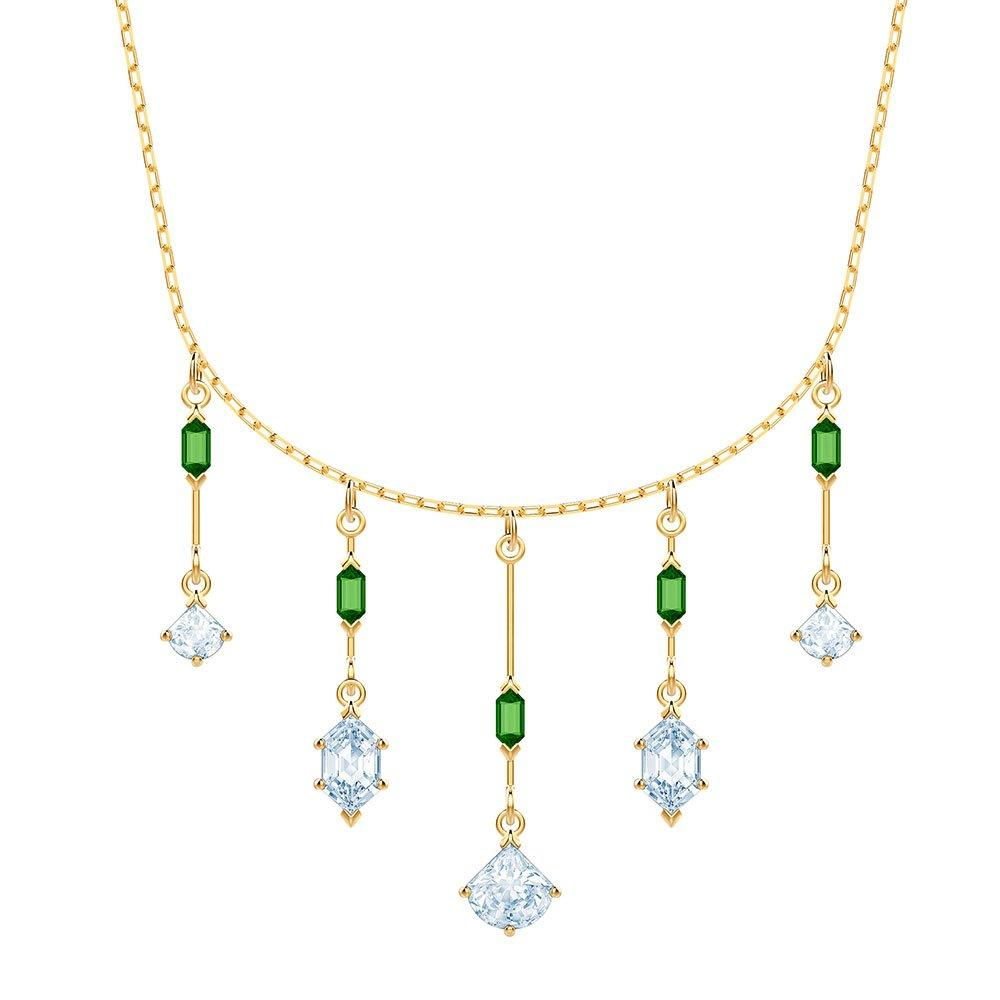 Swarovski Oz Yellow Gold Tone Crystal Necklace