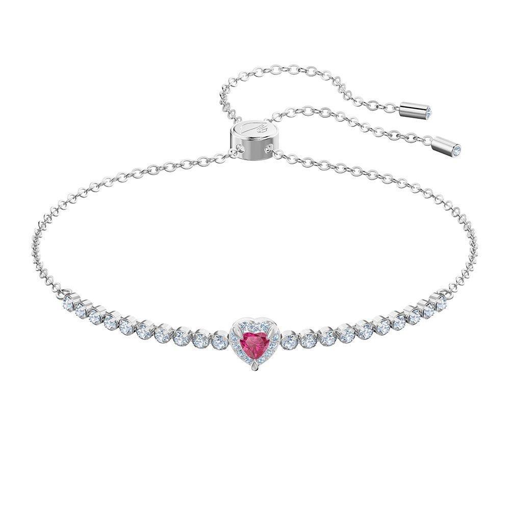 Swarovski One Red Heart Crystal Bracelet